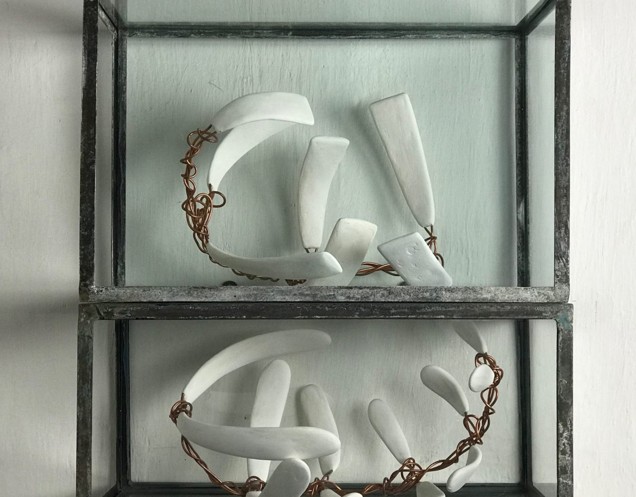 SEM TÍTULO / Ferro, vidro, gesso e cobre </br>