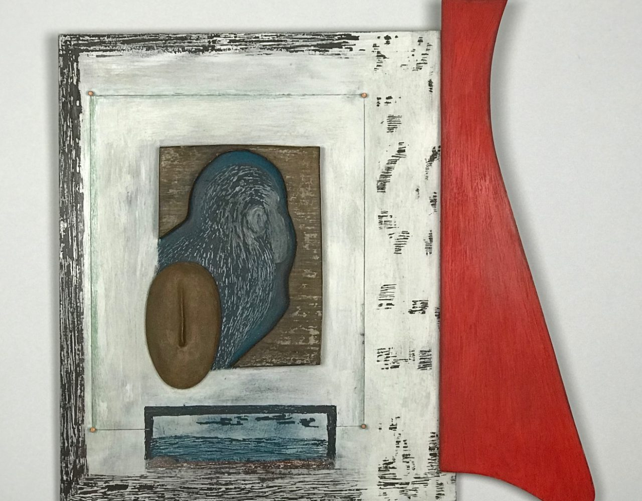 LÁ NA ÁFRICA / Técnica mista sobre MDF </br>