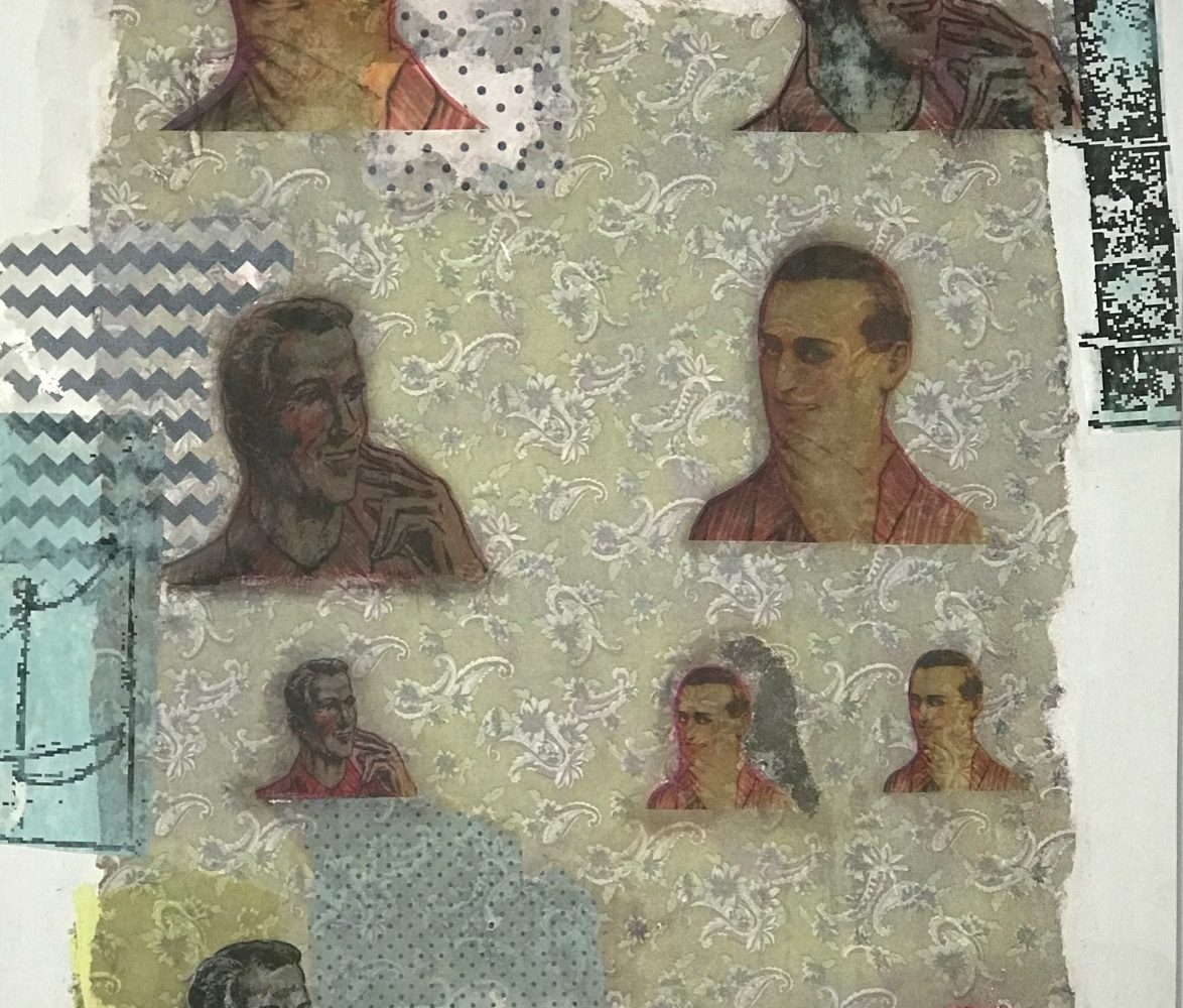 HOMENS DO SABONETE / Técnica mista sobre MDF </br>