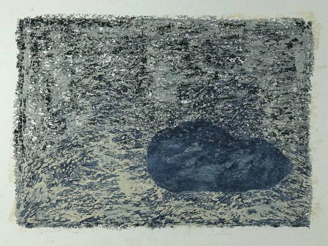 S/ TÍTULO / Óleo sobre papel </br> <em>UNTITLED / Oil on paper </em> </br> 32 x 24 cm </br> 2016